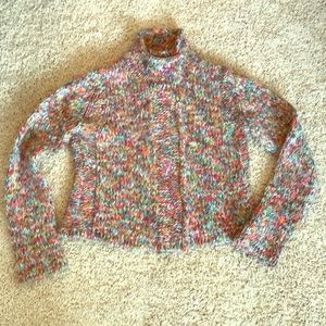 Anthropology HWR colorful sweater